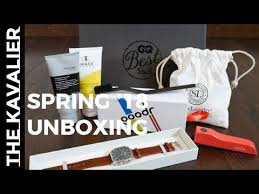 gq best stuff box spring summer 2018