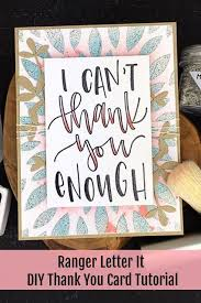 I Can't Thank You Enough Card by Bobbi Smith in 2020   Lettering ...