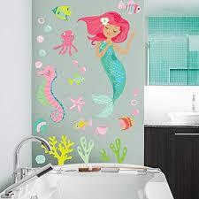 Mermaid Wall Decals Walldecals Com