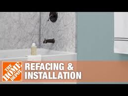 tub shower refacing and installation