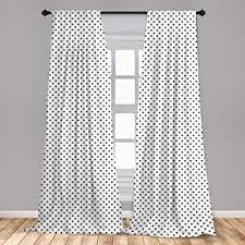 Amazon Com Window Curtain Panels Polka Dot Panels Curtains Drapes Home Kitchen