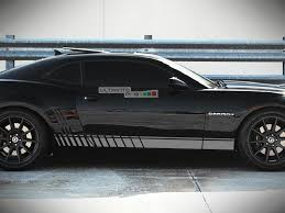 Side Sport Stripe Kit Sticker Decal Graphic Compatible With Chevrolet Camaro Ss 2010 2015 Ultimateprocy