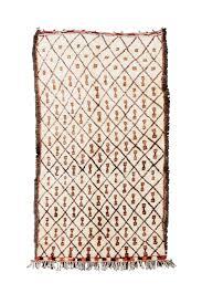 berber carpet beni ourain 380x190 cm