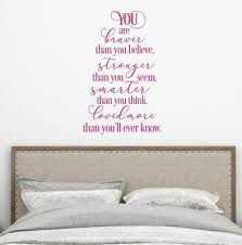 You Are Braver Than You Believe Christopher Robin Kids Room Vinyl Decal 30colors