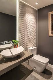 powder room vanity with vessel sink