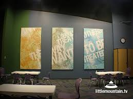 wall graphic panels kids church decor
