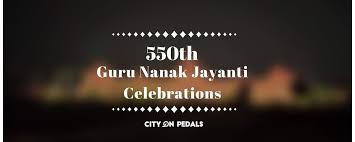 th guru nanak jayanti celebrations city on pedals