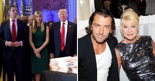 Ivana Trump's toyboy ex-husband calls children she had with Donald Trump  'scum' | Metro News