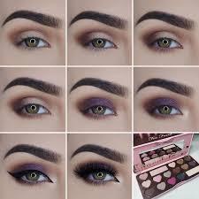 easy step by step eyes makeup tutorials
