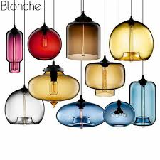modern stained glass pendant lights