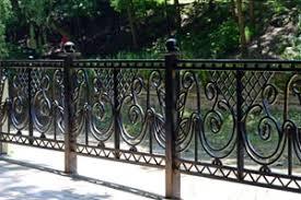 metal fence iron decorative fence