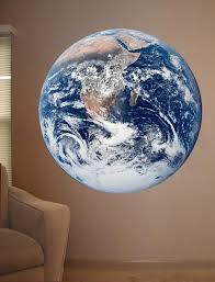 Earth Wall Decal Cutout