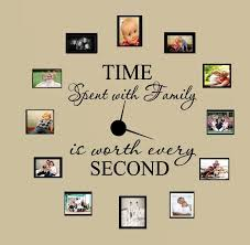 Time Spent With Family With Worth Every Second 3 Wall Decal Home Decor 6 Ntgktv Ntgktv 11 85