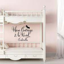 Have Courage And Be Kind Wall Decal Girl Bedroom Wall Decals Princess Room Decor Vinyl Posters Stickers Quote Nursery Wall Art Vinyl Stickers Wall Art Wall Decals From Joystickers 11 75 Dhgate Com