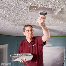 remove popcorn ceiling