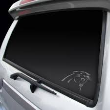 Rico Carolina Panthers Decal Window Graphic Chrome