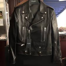 barney leather jacket rockstar jacket