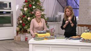 Lidia's Polish Pottery Hand-Painted Ada Baker on QVC - YouTube
