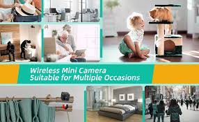 Amazon Com Teamme Mini Spy Camera Wifi Wireless Hidden Camera Hm206 1080p Hd Small Home Security Camera With 32g Sd Card Night Vision Motion Detection Rechargeable Tiny Nanny Cam For Indoor Outdoor