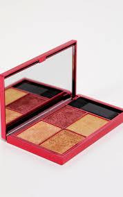sleek makeup highlighting palette fire