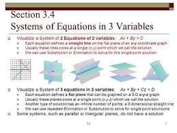 linear equations algebra notes