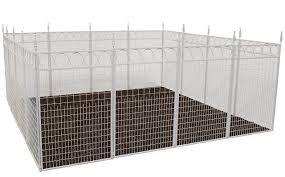 Buy Terra Garden Fence Westchester Gf 1w Protect Beautify 32 Feet Of Fencing Included 36 Inch Tall Animal Barrier White In Cheap Price On Alibaba Com