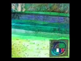 Art in the Hall - Acrylic Paintings and Multimedia Collage by Priscilla  Wallace - YouTube