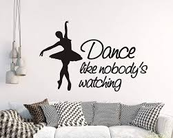 Large Dance Wall Decal For Sale Philippines Dancer Art Silhouette Little Stickers Exotic Car Walmart Vamosrayos