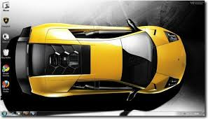 free windows 7 lamborghini car themes