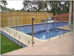 frameless glass pool fence demax arch