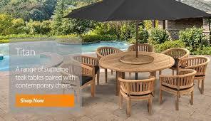 luxury teak garden furniture