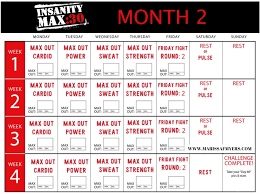 week 6 insanity max 30 max out cardio