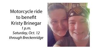 Motorcycle ride organized to fulfill last wish of Kristy Smith Brinegar –  Breckenridge Texan