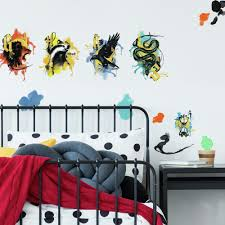 Harry Potter Hogwarts House Wall Decals Roommates Decor