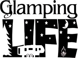 Glamping Life Camping Vinyl Decal Camper Decal Rv Vinyl Decal Sticker Camper Decor Trailer Sticker Vinyl Lettering Decal