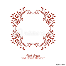 ivy vines in a beautiful frame
