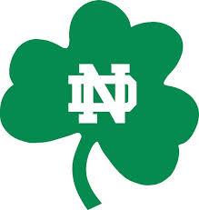 Notre Dame Fighting Irish Wall Car Logo Sticker By Vinylcreator 9 99 Notre Dame Logo College Logo Norte Dame Fighting Irish