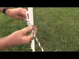 Installation Of Delaval Electric Fencing Youtube