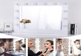wall mounted lighted makeup