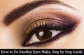 smokey eye makeup step by in urdu