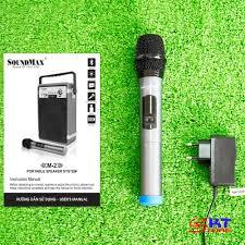 Loa Kéo Karaoke Bluetooth SoundMax M2 - Hàng Chính Hãng
