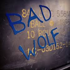 Bad Wolf Grafiti Car Sticker Vinyl Decal Sold By Turbonerd On Storenvy