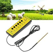 Fencing Free Leather Case And Shipping Digital Electric Fence Voltage Tester 10 000v Livestock Supplies Livestock Supplies Business Industrial