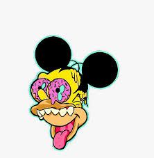 Mickey Mouse Trippy Drawing Clipart , Png Download - Trippy Mickey ...