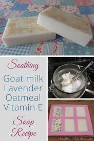 soothing goat milk lavender oatmeal
