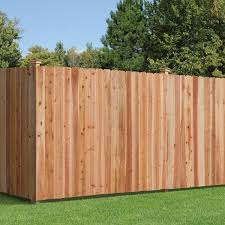 Outdoor Essentials 5 8 In X 6 In X 6 Ft Cedar Dog Ear Fence Picket 6 Pack 371875 The Home Depot
