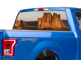 Sec10 F 150 Perforated Canyon Rear Window Decal T542474 97 20 F 150