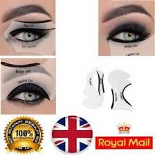 eyeliner stencils cat eye smokey eyes