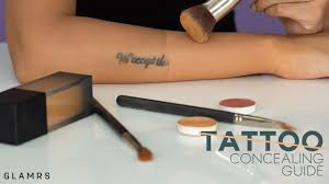 how to cover and conceal tattoos