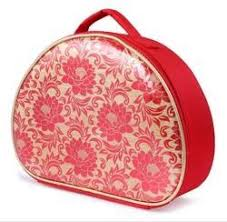 red bridal makeup case rs 790 box